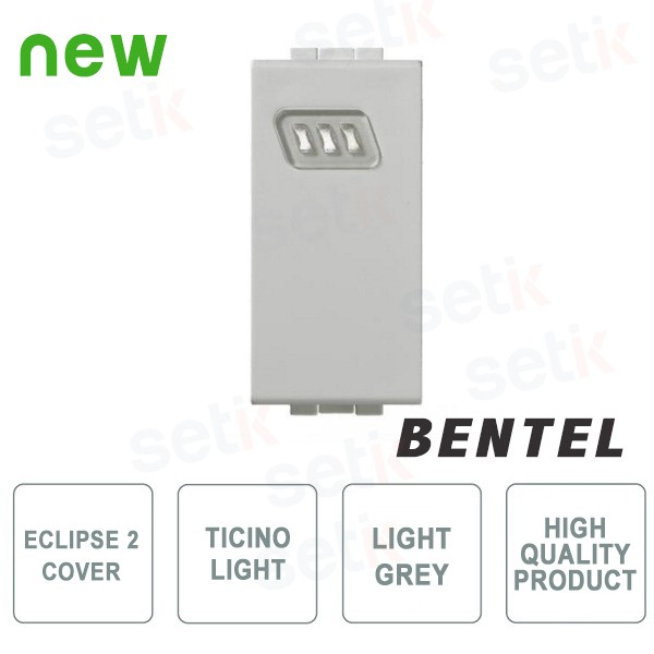Cover for Eclipse 2 Proximity Readers - Ticino Light Series - Bentel