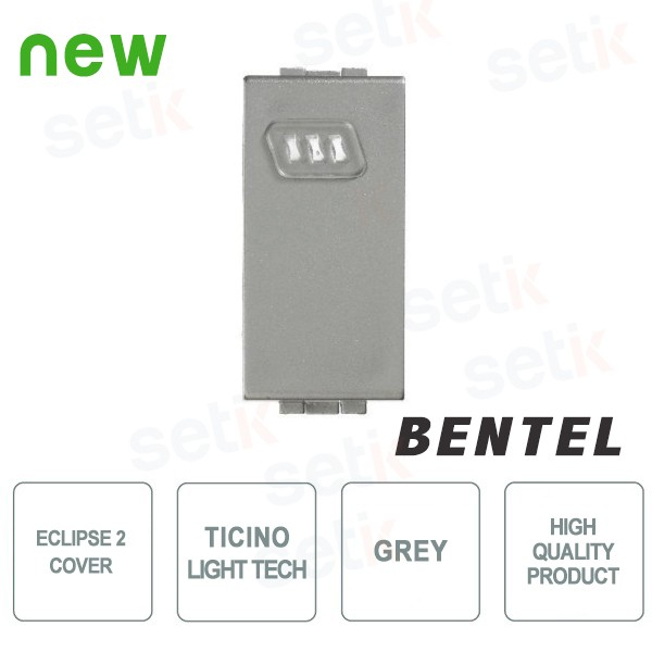 COVER FOR ECLIPSE 2 PROXIMITY READERS - TICINO LIGHT TECH SERIES - ECL2C-BLT BY BENTEL
