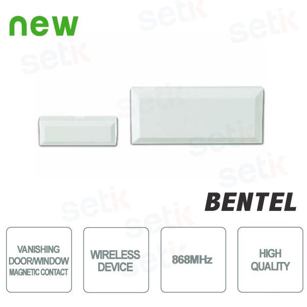 Vanishing Door/Window Magnetic Contact - Wireless Device (868 MHz) - Bentel