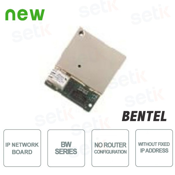 Ethernet network IP card - BW Series- Bentel