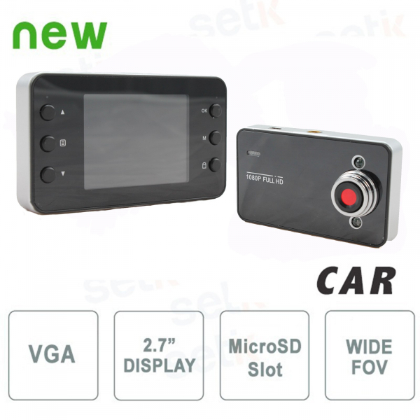 VGA Car Camera - HD Vehicle Blackbox DVR Camcorder - Setik