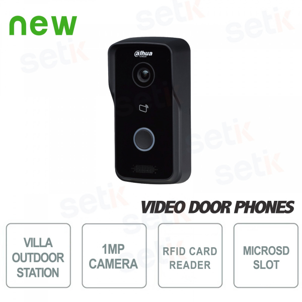 Wireless Outdoor Station with 1MP camera and RFID reader - Dahua