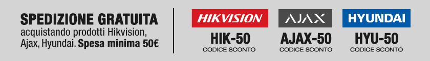 Spedizione gratuita Hikvision Ajax