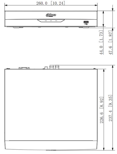 Schema del registratore XVR5104HS-I3